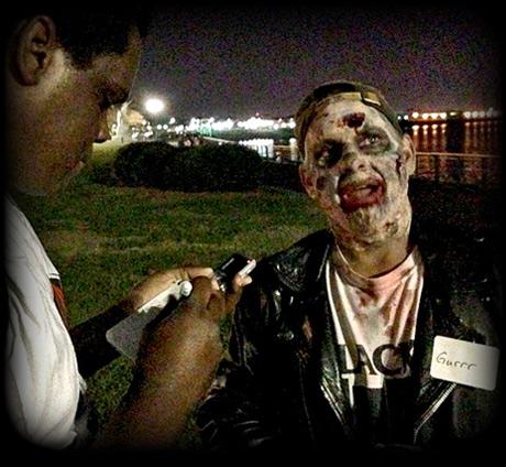 a zombie named Grrr