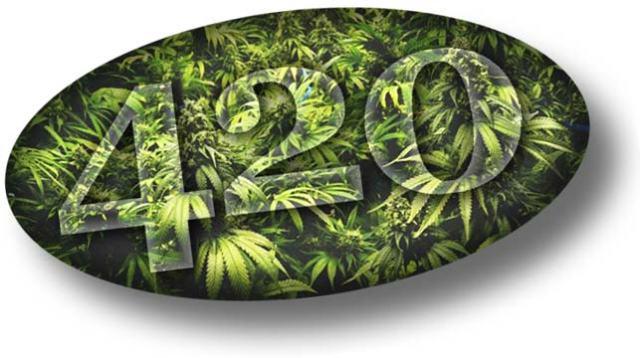 420 pot logo